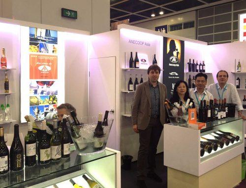 Anecoop Asia, de promoción en los principales eventos del sector del vino en China