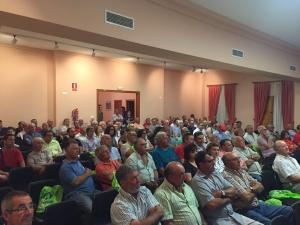 Asamblea en Cooperativa del Camp de Llutxent (Valencia)