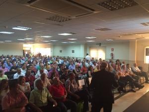 Asamblea en Agroiris (Almería)