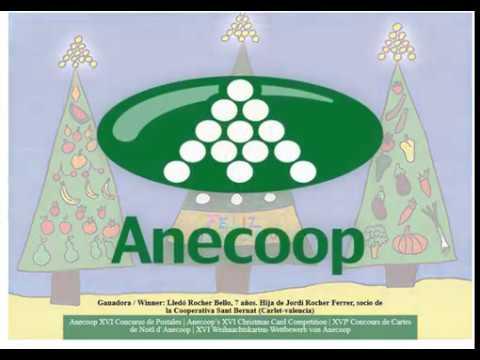 Postal Navideña del Grupo Anecoop 2016