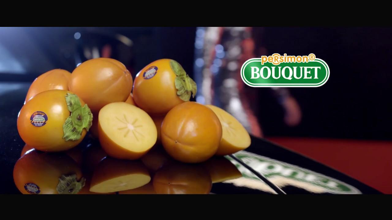 Spot de télévision de kaki Persimon Bouquet en France