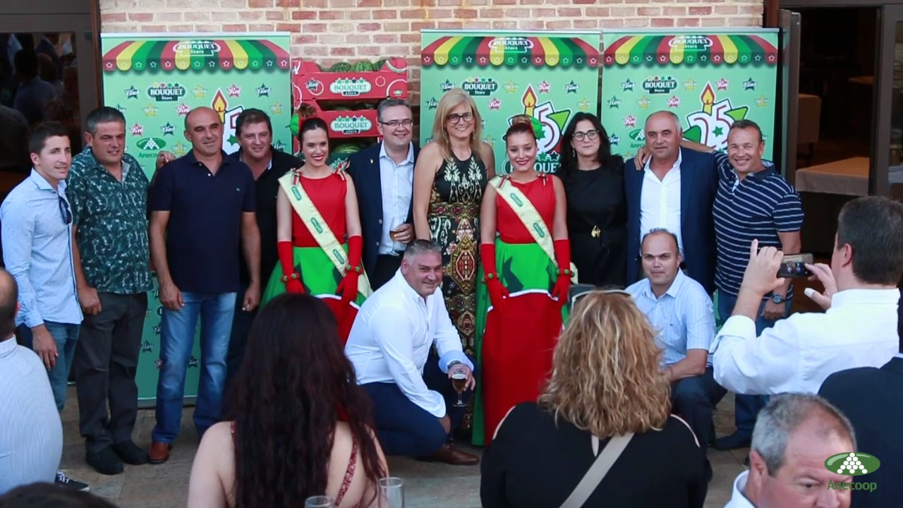 Anecoop presents: celebrations of the 25th Anniversary of the Bouquet watermelons in Lorca