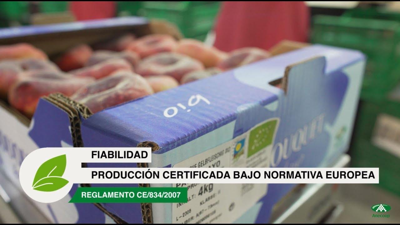 Anecoop presents: Organic production