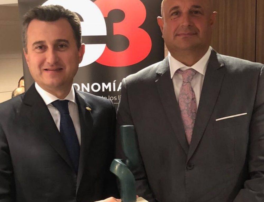 Anecoop recibe el Premio Economía 3 al Liderazgo Cooperativo