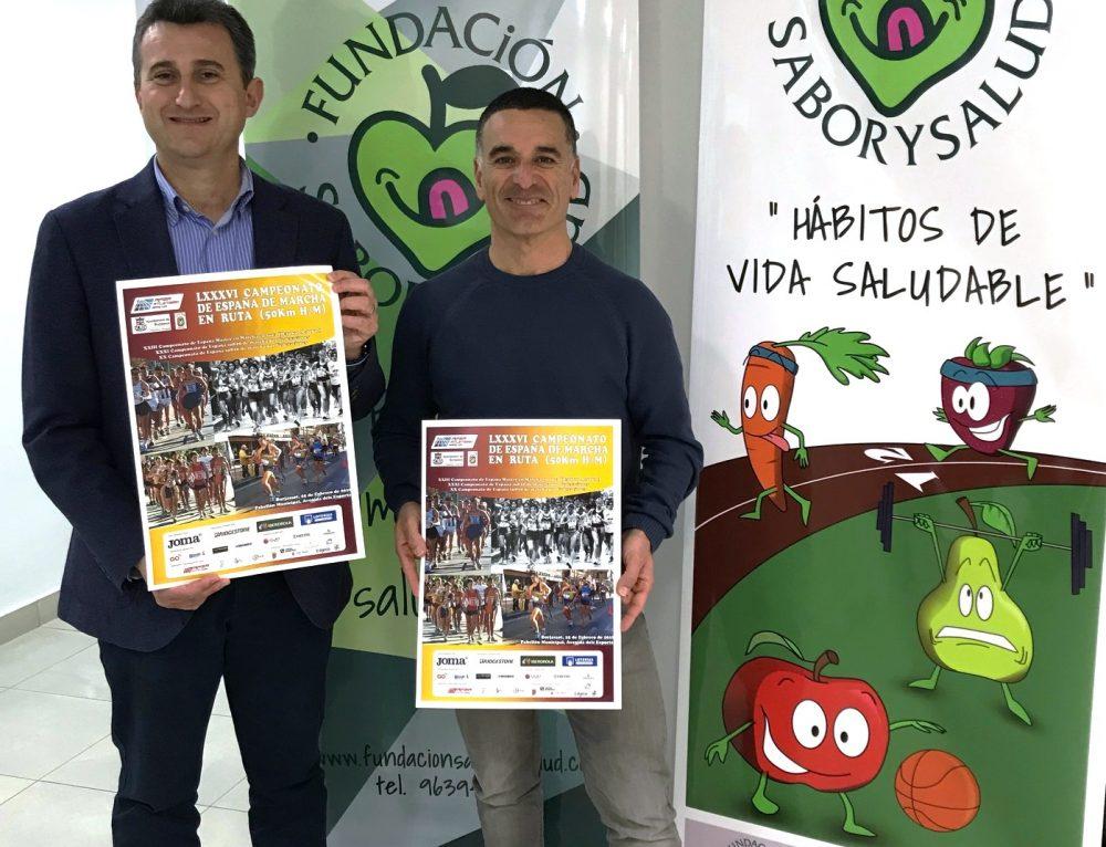 La Fundación Sabor y Salud colabora en el Campeonato de España de 50K marcha en ruta