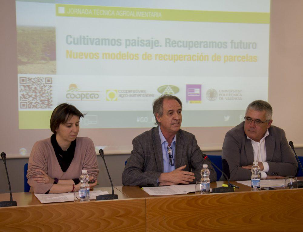 Coopego presenta su iniciativa de gestión en común de tierras (IGC) en la comarca de la Marina Alta