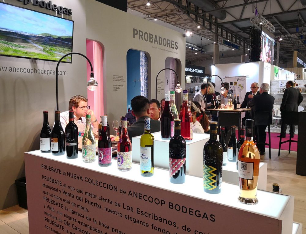 Anecoop Bodegas presenta en Alimentaria 2018 su nueva colección de vinos que marcan tendencia