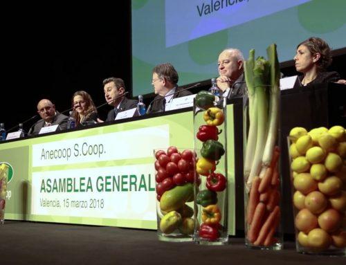 Video der Generalverdsammlung von Anecoop. März 2018