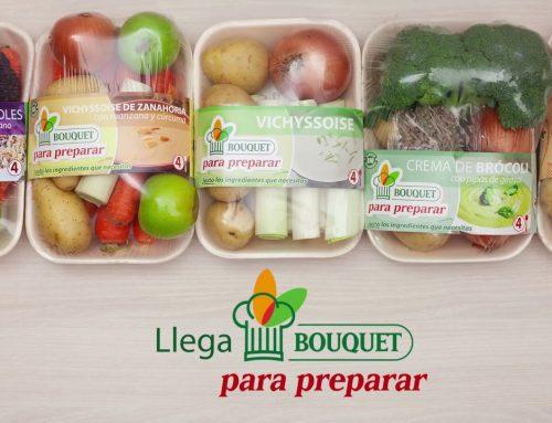Bouquet para Preparar, cocina fácil y saludable y sin generar desperdicios