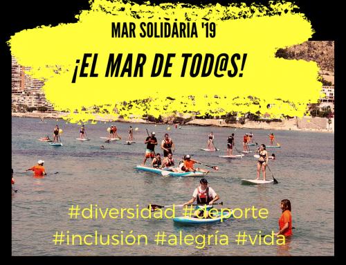 """Deporte, mar y sandías… Anecoop y Bouquet apoyan el evento """"La Mar Solidaria"""""""