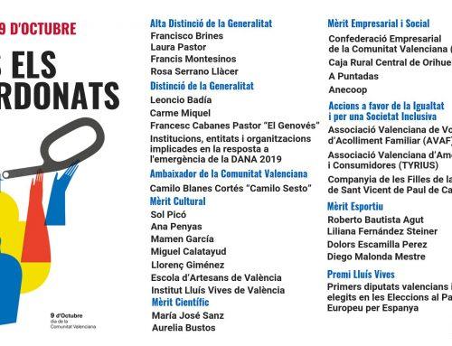 Anecoop, reconocida con la Distinción al Mérito Empresarial y Social por la Generalitat Valenciana