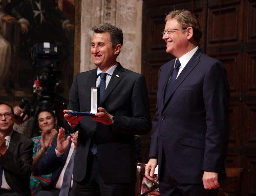 Anecoop recibe la Distinción al Mérito Empresarial y Social por la Generalitat Valenciana