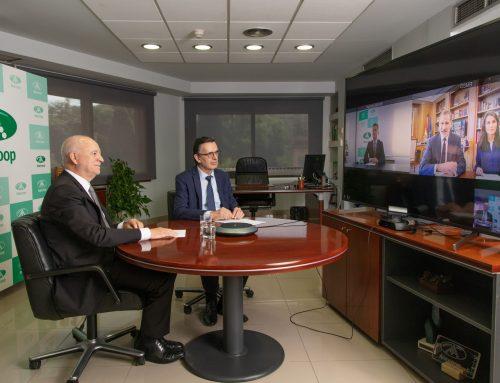 La Casa Real se reúne en videoconferencia con representantes de Anecoop
