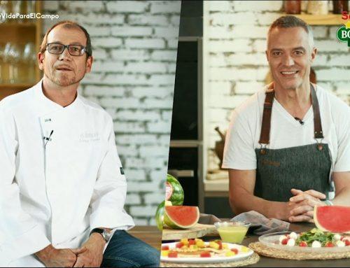 Los Chef de Canal Cocina Juan Pozuelo y Enrique Pérez nos cuentan por qué eligen sandías Bouquet