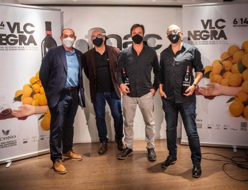 Hoy se ha presentado el 8º Festival VLC Negra con el vino Icono como patrocinador principal