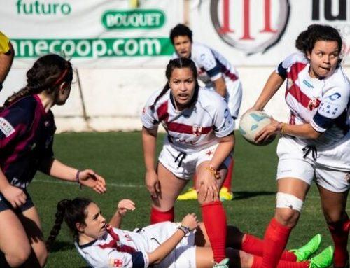 Rugby femenino: Anecoop continúa impulsando hábitos saludables mediante su apoyo al deporte