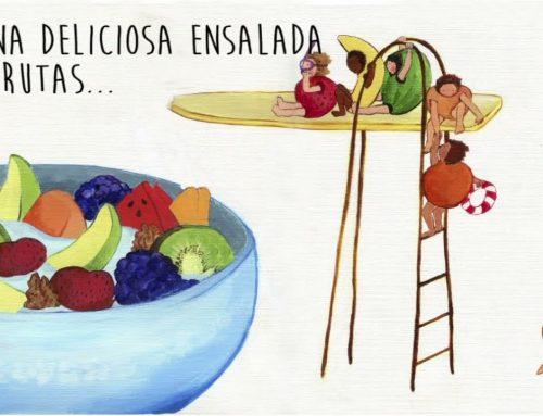 Anecoop y Bouquet animan a los niños a comer fruta en el Día del Libro
